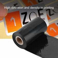 "Thermal Transfer Ribbon 4.33""x918' Resin Ribbon Printer Label Printing Accessory"