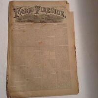Vintage FARM & FIRESIDE EASTERN EDITION OCTOBER 1,1888 NEWSPAPER