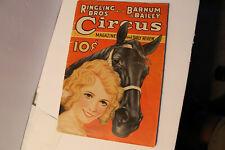 Magazine:   RINGLING BROS & BARNUM & BAILEY CIRCUS    1934