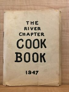 1947 The River Chapter Cookbook Vintage Recipes Hungarian French Swedish