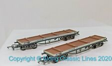 GMR 54335-0, OO Gauge, Bogie Bolster A Wagon Twin Pack with bolsters