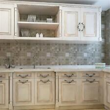 Home Oil Proof Mosaic Anti Oil Wall Paper Tile Sticker Kitchen Bathroom Decor B