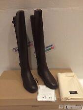 UGG Ladies DANAE Black Leather Boots Size US 5 UK 3.5 1008683 W $275.00 NEW!
