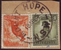 """NSW POSTMARK """"MOUNT HOPE"""" DATED 1945 (A11980)"""