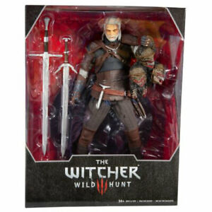 McFarlane Toys - The Witcher 3 Wild Hunt Action Figure - GERALT OF RIVIA (12 in)