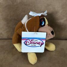 Disney Store Nana St Bernard Peter Pan Wendy babysitter bean bag plush doll