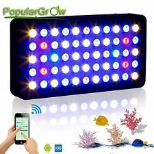 PopularGrow 165W WIFI Dimmable LED Aquarium Light Bulb Fish Tank Reef Coral Lamp