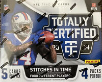 2014 Panini Totally Certified Football Factory Sealed Hobby Box