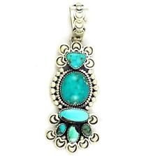 *CARICO LAKE* Turquoise Pendant by Darrin Livingston