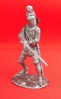 54 mm Tin Miniautre Model Figurine Toy soldier 1:32 France Louis de Nevers