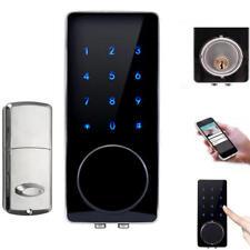 Bluetooth Smart Digital Door Lock Home Security Lock Keyless Touch Password Dead