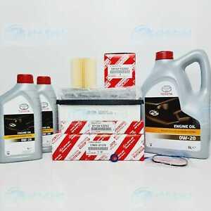 GENUINE LEXUS GS450H SERVICE KIT 2012 TO 2018 MODEL GWL10 FILTERS 0W20 OIL