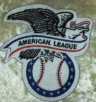 """American League Baseball 3.5"""" Iron On Embroidered Patch ~US Seller~FREE SHIP!~"""