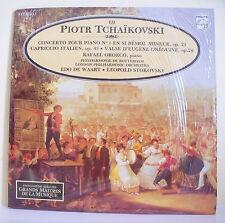 "33T TCHAIKOVSKI Vinyl LP 12"" OROZCO Piano DE WAART STOKOVSKI MUSIQUE ALPHA N° 69"