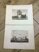 Oxford Interest. 11 Rare Antique etchings and prints  18th and 19th C RRP £260