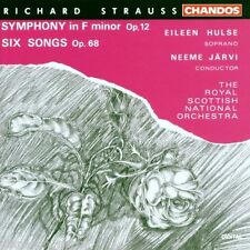 Strauss: Sinfonia (Symphony) No 2, 6 Canzoni (Songs) / Jarvi, Royal Scottisch CD