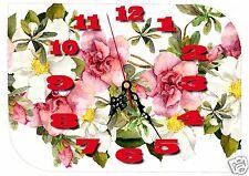 horloge fête des mères bonne fête maman réf FM14 avec prénom personnalisable