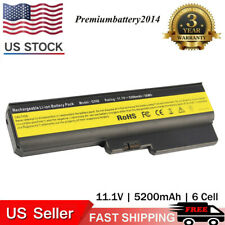 6 Cell Battery for Lenovo G430 G450 G530 Z360 G550 V460 3000 N500 L08S6D02 US