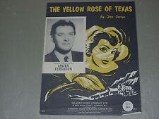 Lester Ferguson: The Yellow Rose Of Texas    Sheet Music
