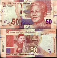 SOUTH AFRICA 50 RAND 2018 P 145 100TH COMM. NELSON MANDELA UNC