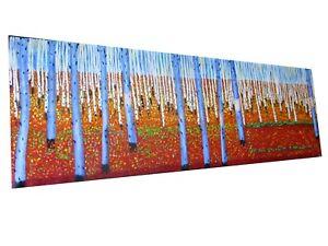"""Original Bush outback Art Oil Painting Landscape Canvas Trees not aboriginal 78"""""""