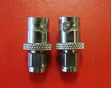 BNC (f) to SMA (m) Connector Adapter, DC-4GHz, Qty.2