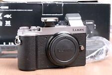 Panasonic Lumix G DC-GX9M Mirrorless Micro 4/3 Digital Camera (Silver) w/64GB SD