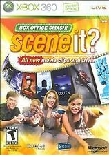 Scene It Box Office Smash (Microsoft Xbox 360, 2008) GOOD - GAME ONLY