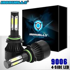 IRONWALLS 1400W 210000LM 4Sides 360° LED headlight Kit 9006 HB4 HID 6000K White