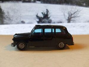 Corgi Toys 418 Austin Taxi in black with tinted windows