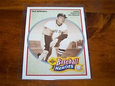 BOSTON RED SOX TED WILLIAMS 1991 UPPER DECK BASEBALL HEROES #33 OF 36