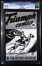 TRIUMPH ADVENTURE COMICS # NN CGC 9.8 - REPRINT - 1st Annual Canadiana Auction