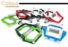1pair Al Alloy Bike Pedals Road MTB Road Bicycle 3 Sealed Flat Platform Pedal