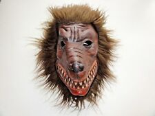 Vintage Werewolf Wolverine Halloween Mask Latex High Quality Horror Scary Blood