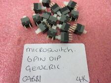 7 x 7mm 7x7 PCB Tactile Push Button Switch Self Latching DIP 6 Pin *25 PER SALE*