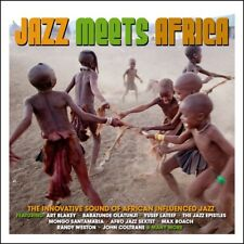 Jazz Meets Africa - The Innovative Sound Of African Infused Jazz 3CD NEW/SEALED