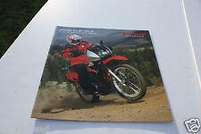Motorcycle Brochure - Kawasaki - KLR KLX Dual Purpose Off Road 2008 OS (DC334)