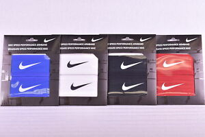 Nike Speed Performance Wristband Sweatband Dri - Fit Fabric Choose Color