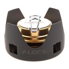 ALOCS Portable Mini Ultra-light Spirit Burner Alcohol Stove Outdoor Backpac J3U5