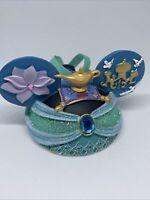 Disney parks princess Jasmine and Aladdin Mickey ear hat Christmas ornament
