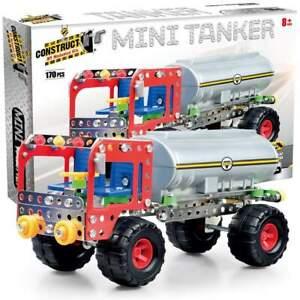 Construct It! Construct-It! Mini Tanker 170 Piece Kit