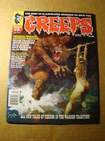 CREEPS 3 **NM/MT 9.8** FRAZETTA ART BUCKLER IN THE WARREN TRADITION