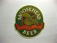 Moosehead Breweries Beer Mat Coaster Saint John New Brunswick Canada