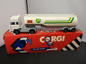 T170-CORGI JUNIORS SEDDON ATKINSON BP PETROL TANKER WITH ORIGINAL BOX