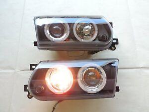For Tsuru B13 1991 1992 1993 1994 FACELIFTED Projector Balck Headlight