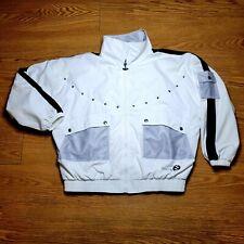 IXSPA Retro 90's Windbreaker zip up jacket Medium Vintage Unisex