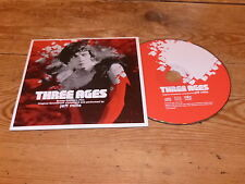 JEFF MILLS - THREE AGES - BUSTER KEATON !!! FRENCH  PROMO CD + BONUS!!!!!!!!!!!