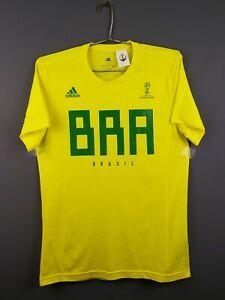 Brazil Brasil fun jersey S world cup shirt soccer football Adidas ig93