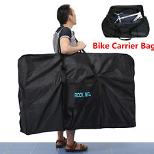 51'' Bike Folding Travel Bag Carry Transport Case Road Mountain Bicycle Luggage