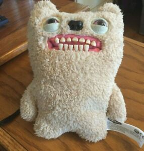 Spin Master FUGGLER Funny Ugly Monster Medium White Toothblock New Without Box